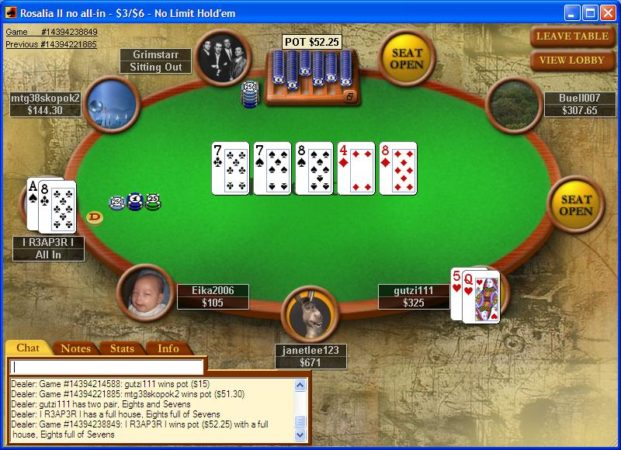 پوکر آنلاین pokerstars