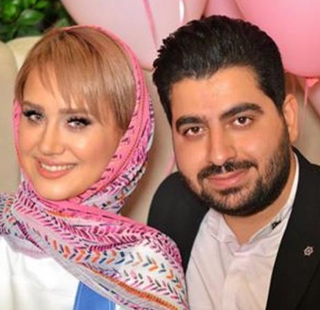 سحر سیسی و مسرش حاج مهدی